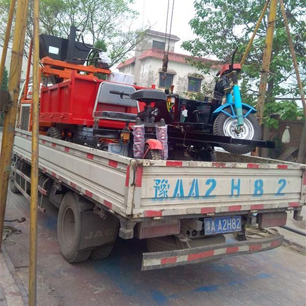 山xi建zhu三轮车发货现场